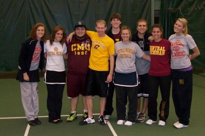 Central Michigan Team (400)