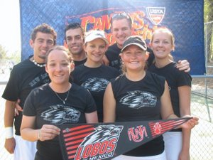 University of New Mexico Club Tennis Team
