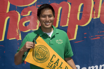 Steven Azeka - California Polytechnic State University Club Tennis Team