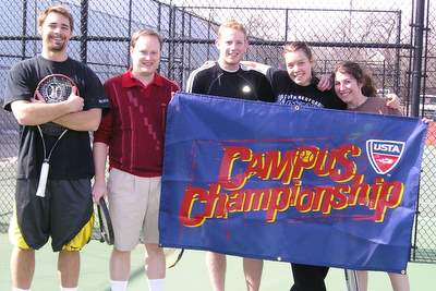 Westminster College Club Tennis Team
