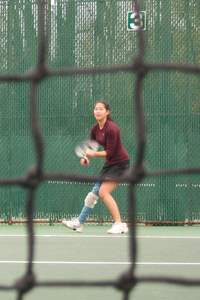 Valerie Collins, Towson Club Tennis Team, Baseline