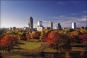 Little Rock, Arkansas In The Fall