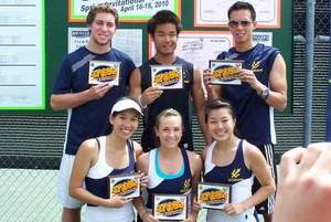 University of California - San Diego Club Tennis Team, 2010 Tennis On Campus Spring Invitational - West Champions (300)