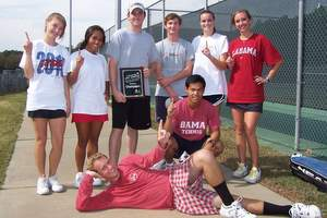 University of Alabama Club Tennis Team, 2010 Tennis On Campus Fall Invitational Champions (300)