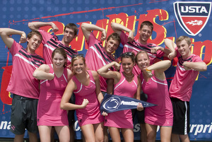 Penn State University Club Tennis Team Photo (300)