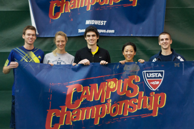 University of Michigan Club Tennis Team Campus Champions (400)