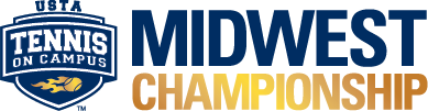 USTA Tennis On Campus Midwest Championship logo