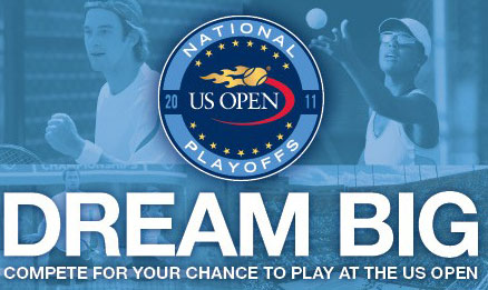US Open National Playoffs Logo