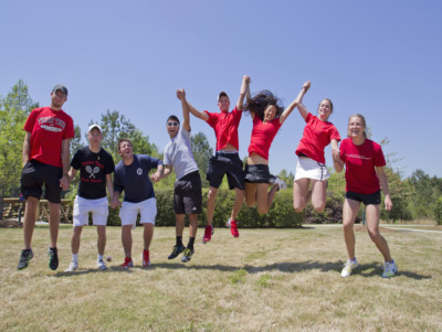 Texas Tech Group Jump