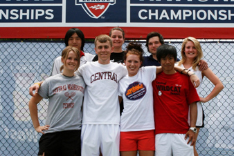 Central Washington University Club Tennis Team (400)
