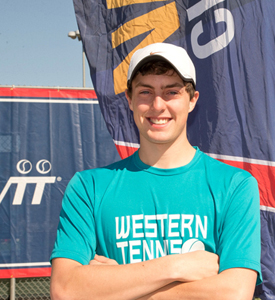 Cooper Anderson at Nationals for Awards Homepage