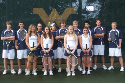 Tennis On Campus - WEST VIRGINIA UNIVERSITY Club Tennis Team