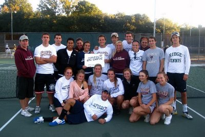 College of Charleston Club Tennis Team