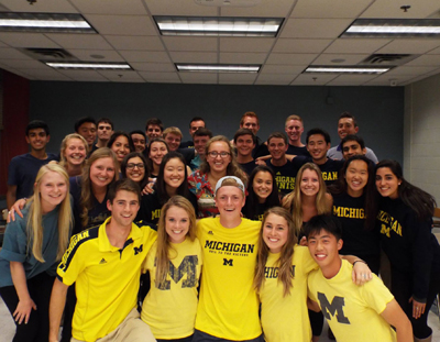 University of Michigan 2016 Team