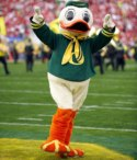 University of Oregon 2013 Team Mascot