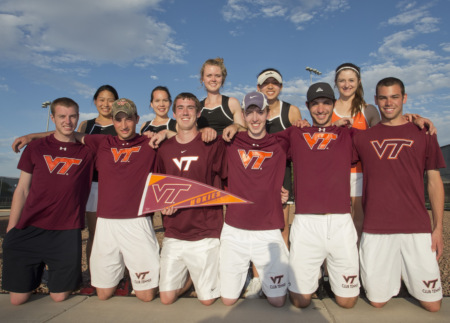 Virginia Tech 2013 Team Photo