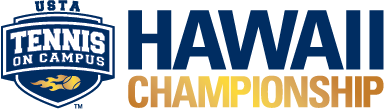 USTA Tennis On Campus Hawaii Pacific Championship logo