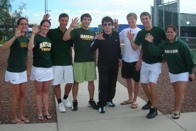 Baylor University Club Tennis Team