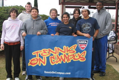Columbus State University Club Tennis Team