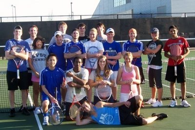Grand Valley State University Club Tennis Team (400)