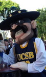 University of California - Santa Barbara Club Tennis Team Mascot (150)
