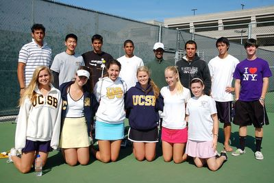 University of California - Santa Barbara Club Tennis Team (400)