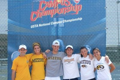 University of Missouri - Columbia Club Tennis Team
