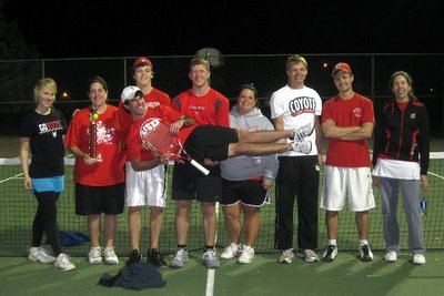 University of South Dakota Club Tennis Team