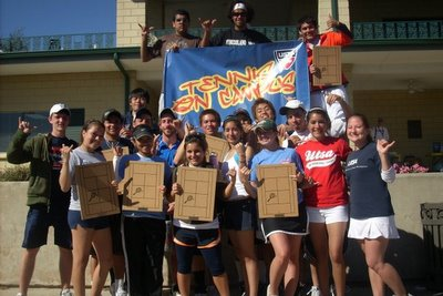 University of Texas at San Antonio Club Tennis Team (400)