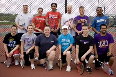Western Illinois University Club Tennis Team