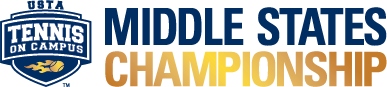USTA Tennis On Campus Middle States Championship logo