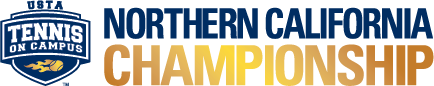 USTA Tennis On Campus Northern California Championship logo