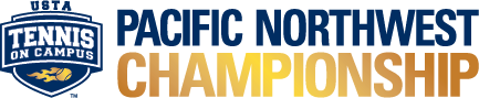 USTA Tennis On Campus Pacific Northwest Championship logo