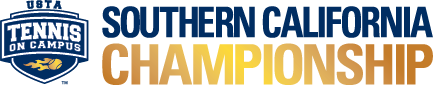 USTA Tennis On Campus Southern California Championship logo