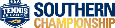 USTA Tennis On Campus Southern Championship logo