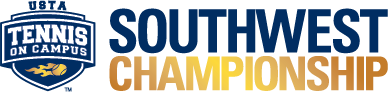 USTA Tennis On Campus Southwest Championship logo