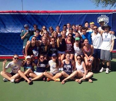 Villanova University Club Tennis Team Photo