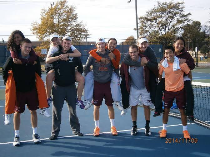 Virginia Tech Team Photo